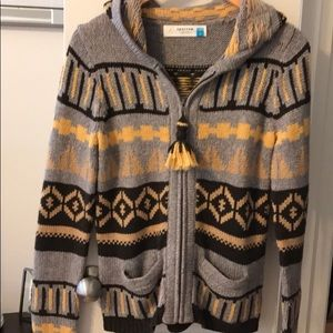 Sparrow Anthropology size small sweater